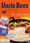 3 paquets de riz 10 minutes uncle bens