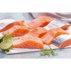 6 paves de saumon asc filiere qualite carrefour