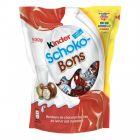 photo BONBONS CHOCOLAT-LAIT-NOISETTES KINDER SCHOKO-BONS
