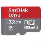 carte micro sd 32go sandisk msd ultra 32go a1