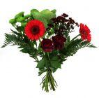 fleurs bouquet caresse rouge carrefour