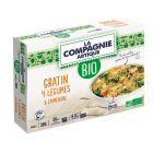 gratin 4 legumes et emmental bio surgele
