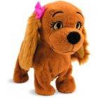 imc toys- peluche lucy petit chien apprivoise - 7963