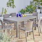 keter - ensemble 1 table et 6 fauteuils