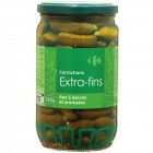 carrefour - cornichons extra-fins