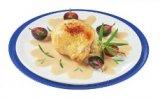 chapon sauce foie gras de canard