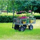 chariot de jardin multiusage