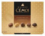 chocolats assortiment grands pralines cemoi