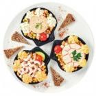coquille au saumon surimi ou crevettes