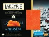labeyrie - saumon fume degustation le norvege