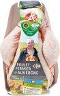 poulet fermier dauvergne filiere qualite carrefour