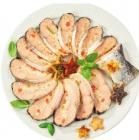 saumon entier farci aux petits legumes label rouge