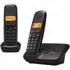 telephone sans fil duo gigaset gig-a150 a-noir-duo r