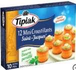 tipiak - mini croustillants saint-jacques surgeles