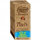 photo Nestlé dessert - tablettes de chocolat noir