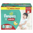 pampers - culottes baby-dry pants