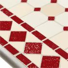 table mosaique rectangulaire