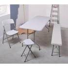 table pliante blanche 180 m