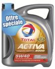 total - huile activa 5w40 diesel 5 l d