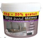beton mineral resinence gris ardoise 6kg 20% gratuit