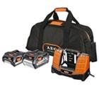 chargeur et batterie aeg pro 18 v - 2 ah et 4 ah