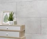 dalle pvc dumawall ciment clair 65 x 375 cm