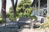 Salon de jardin bas Macao 4 places
