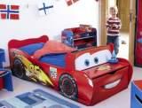 cars lit enfant en bois flash mcqueen