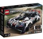 lego technic 42109 - la voiture de rallye controlee