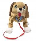 les toufous chien marron - peluche interactive