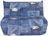 banquette-lit bz jeans bleu
