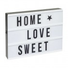 boite lumineuse a messages lightbox