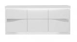 photo Buffet 3 portes SPIRIT coloris blanc