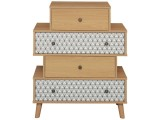 commode 4 tiroirs odette