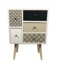 commode 6 tiroirs anabelle
