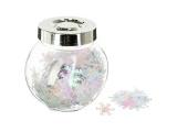 confettis de table deco flocons