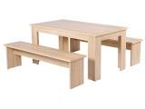 ensemble table 2 bancs monaco