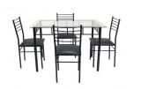 ensemble table et chaises rectangulaire tenessy