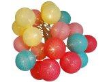 guirlande cotton ball