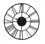 horloge coloris noir