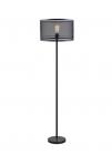 lampadaire 165 cm fence coloris noir