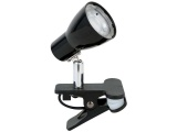 lampe de bureau clip noir