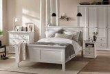 lit adulte 140x190 cm harlington coloris blanc