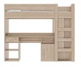 lit mezzanine combine 90x200 cm montana