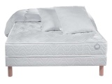 matelas sommier couette 2 oreillers abana