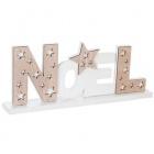 noel en lettres bois noel