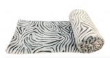 plaid 130x170cm geo 1 coloris gris