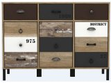 rangement 3 portes 3 tiroirs oldy