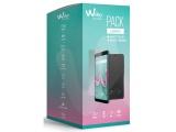 smartphone 57 wiko pack lenny 5 avec folio et verre trempe