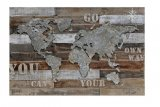 tableau multi matieres 80x120 cm travel
